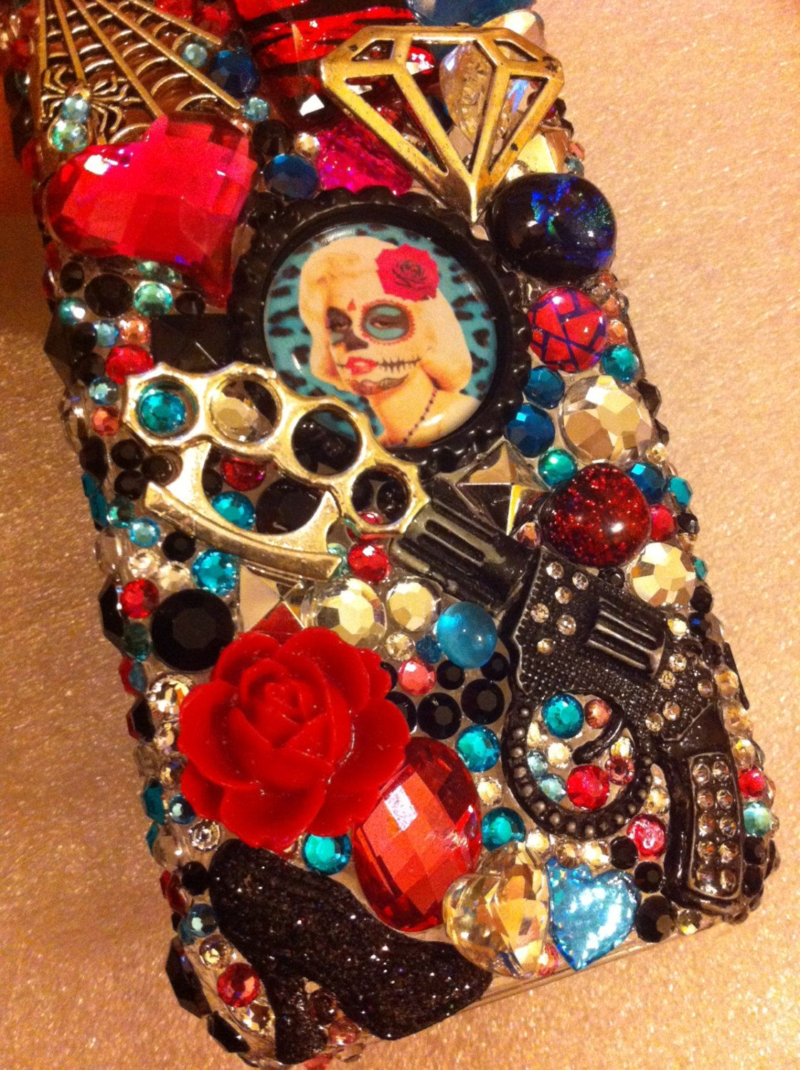 iPhone 5 Marilyn Monroe Case by mommymisfit on Etsy