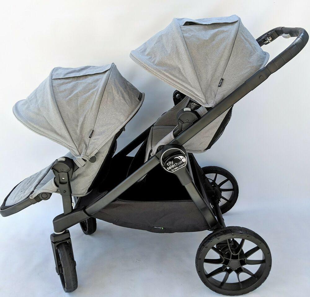 Baby Jogger City Select Lux with Second Seat, Slate