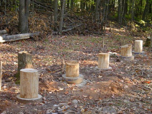 Perfect Cabin Foundations | Foundation. Canu0027t Go Down 4ft!   Small Cabin Forum