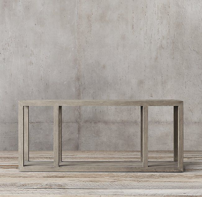 herringbone large console table in 2019 sun valley large console rh pinterest com