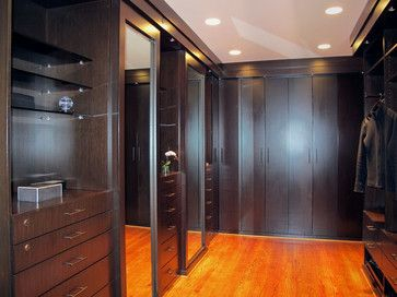 CUSTOM MADE BAMBOO WALKING CLOSET Modern Closet Organizers