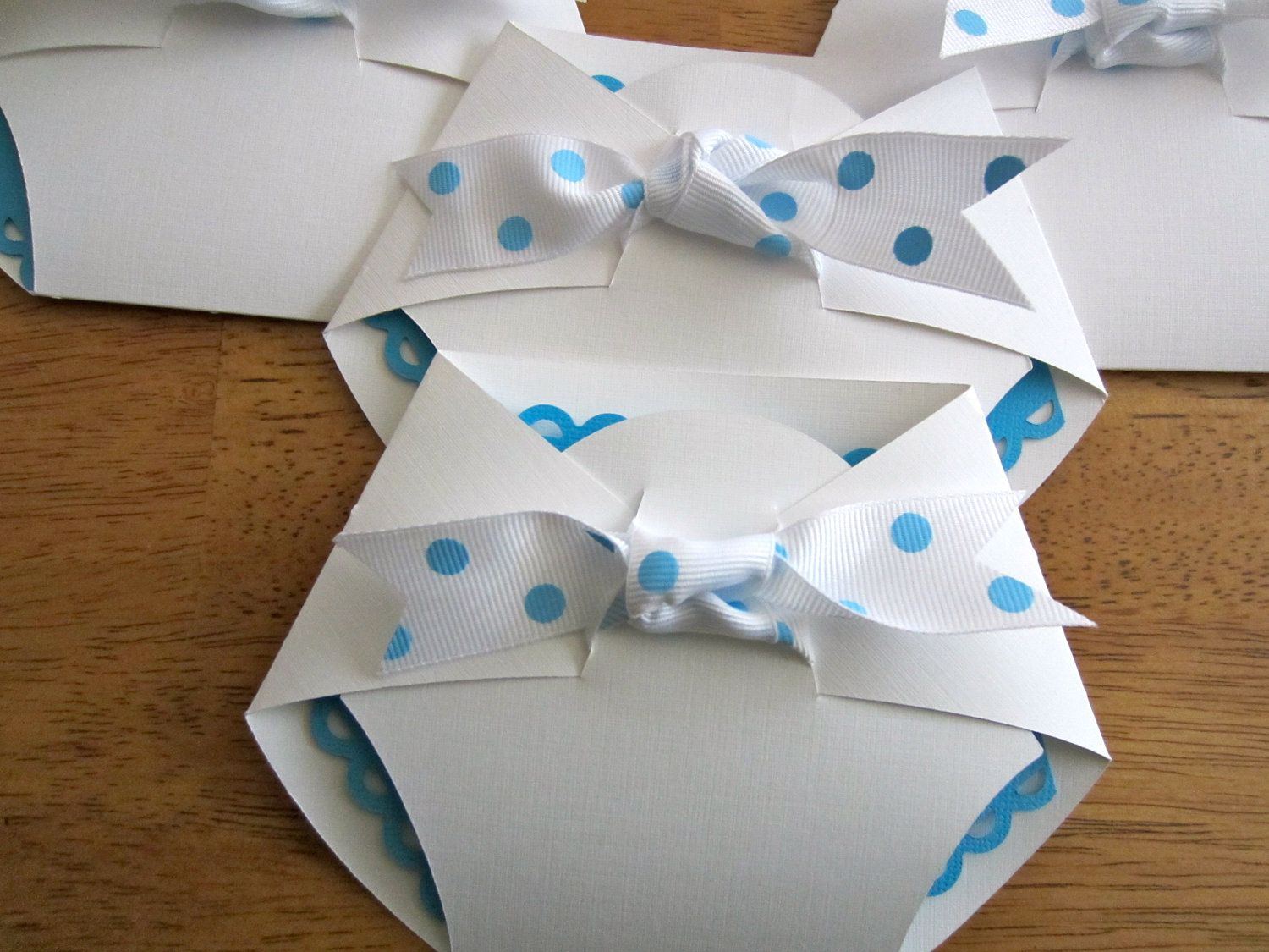 Lorrain Custom Baby Shower Invitation - Diaper Shape | Pinterest ...