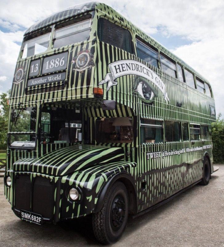 En este bus con diseño de pepino podrás conocer Londres de una forma única y exclusiva