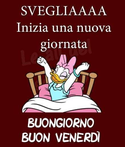 Buongiorno buon venerd dialetos good morning for Vignette buongiorno simpatiche