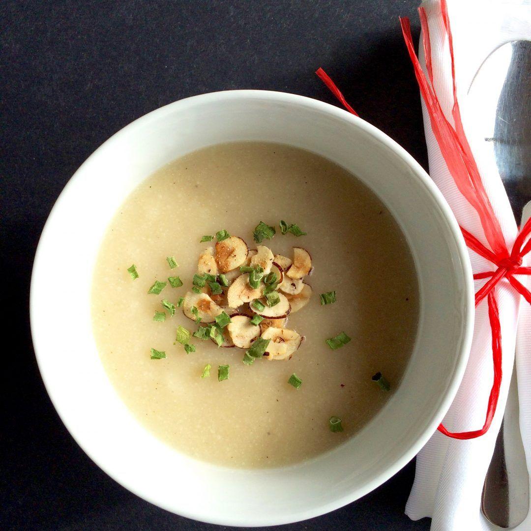 Potage chou-fleur et poire   Recette   Potage chou fleur, Potage et Chou fleur