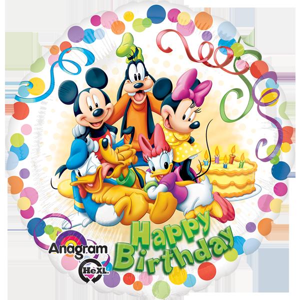 #Globos #Metalizados de #Mickey #Mouse y sus #Amigos!!! #Bendecido #Jueves!!