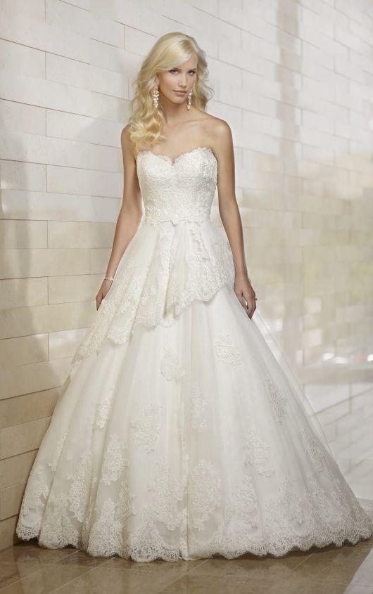 Essense of Australia D1410, $600 Size: 26 | Used Wedding Dresses