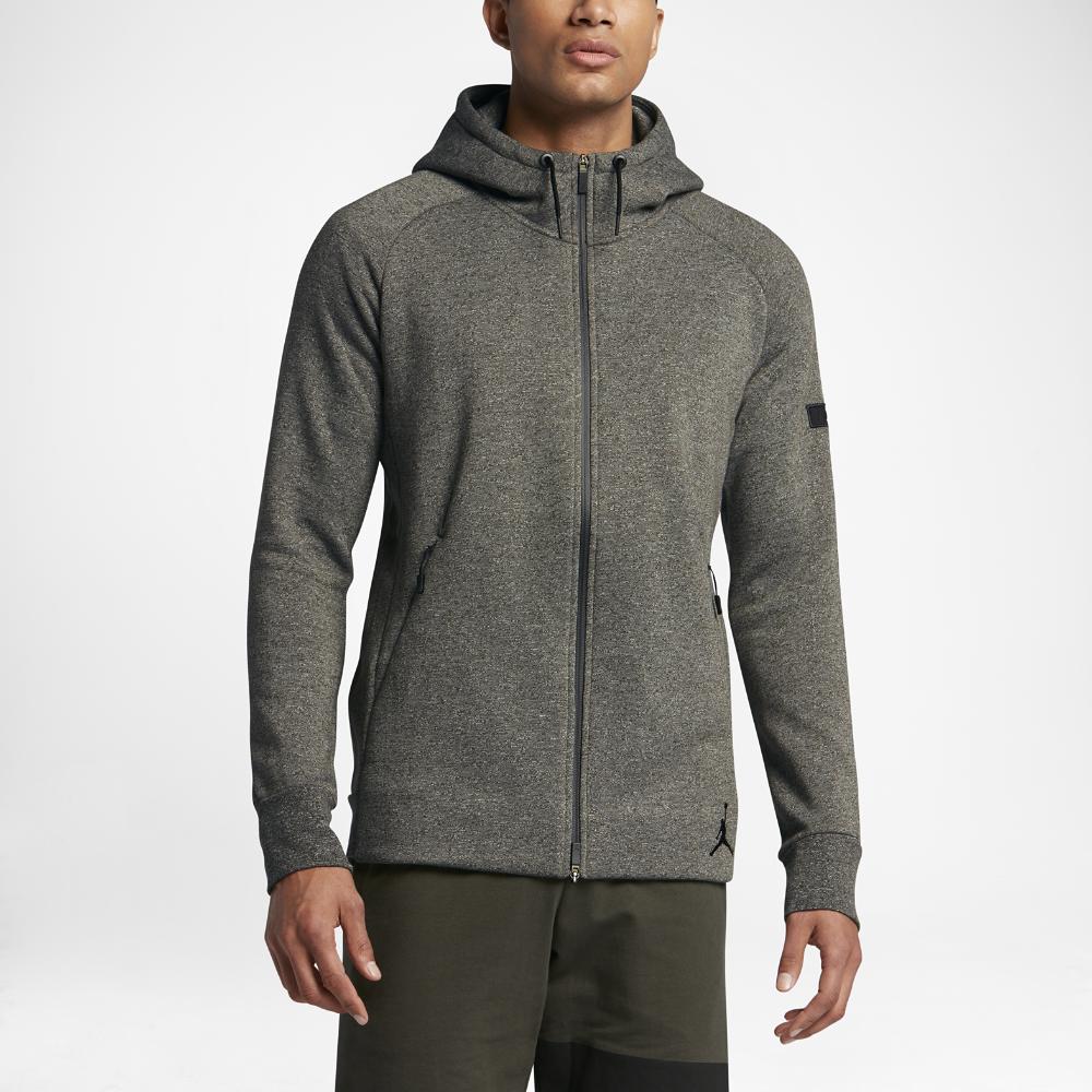 Jordan Icon Fleece Full Zip Men's Hoodie, by Nike Size