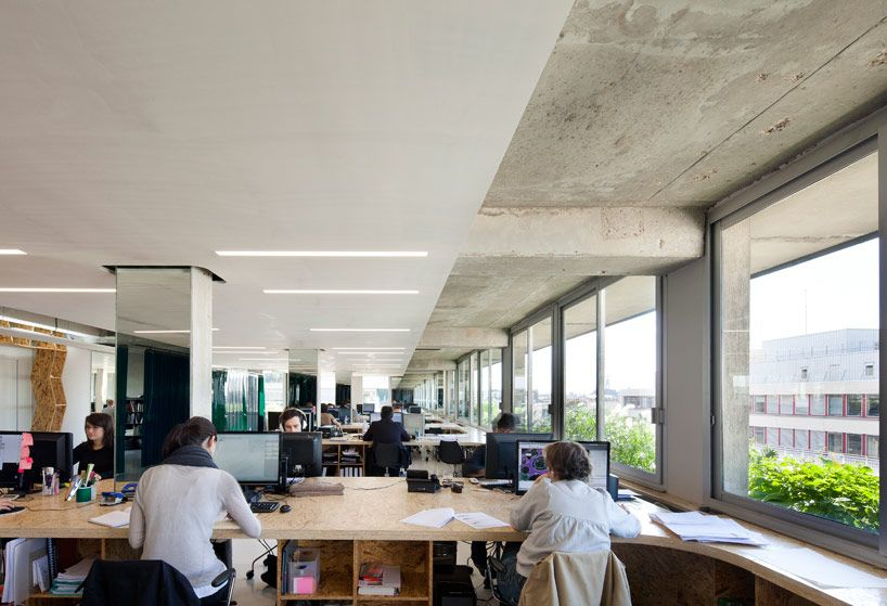 xtu architects x office paris france Paris france Architects