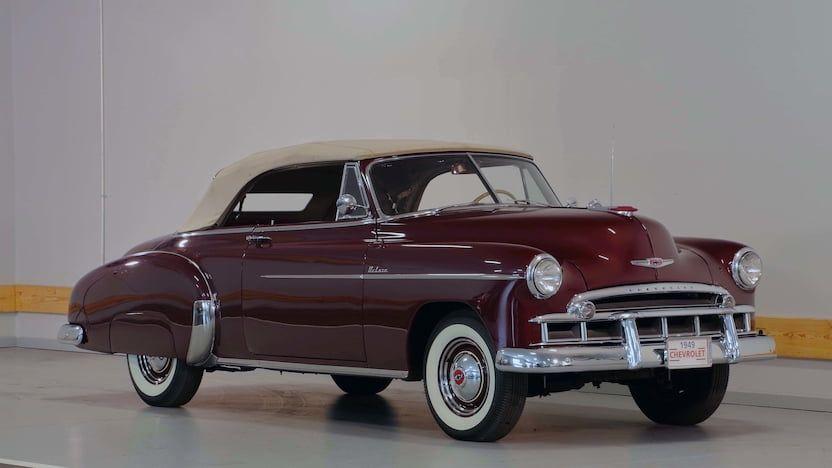 1949 Chevrolet Deluxe Convertible F151 1 Las Vegas 2019