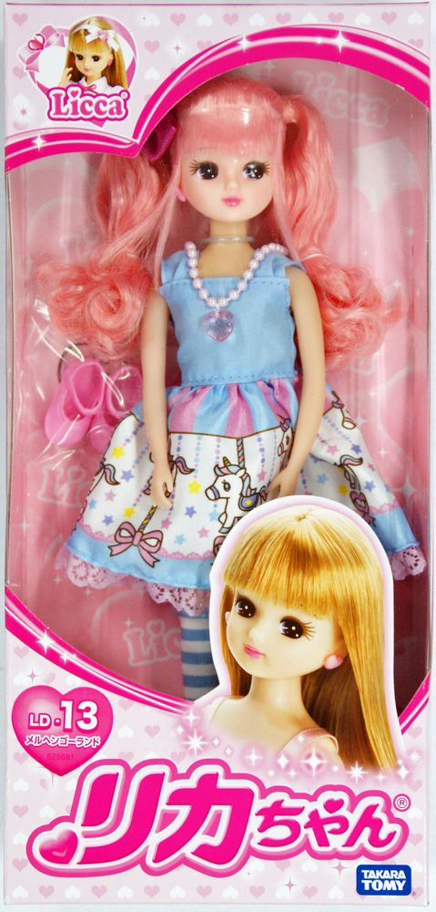 Takara Tomy Licca LD-06 Floral Fairy Party Dress Fashion Doll