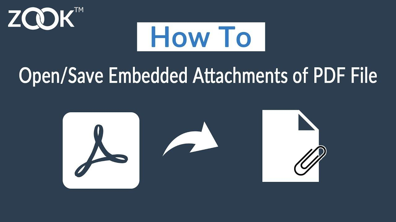 How To Open Save Embedded Attachments Of A Pdf File Freshbooks Met Online Seo Services