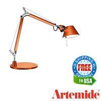 Artemide Tolomeo Micro Table Lamp Bronze A011890 E12 Led Bulb Included Table Lamp Lamp Led Bulb