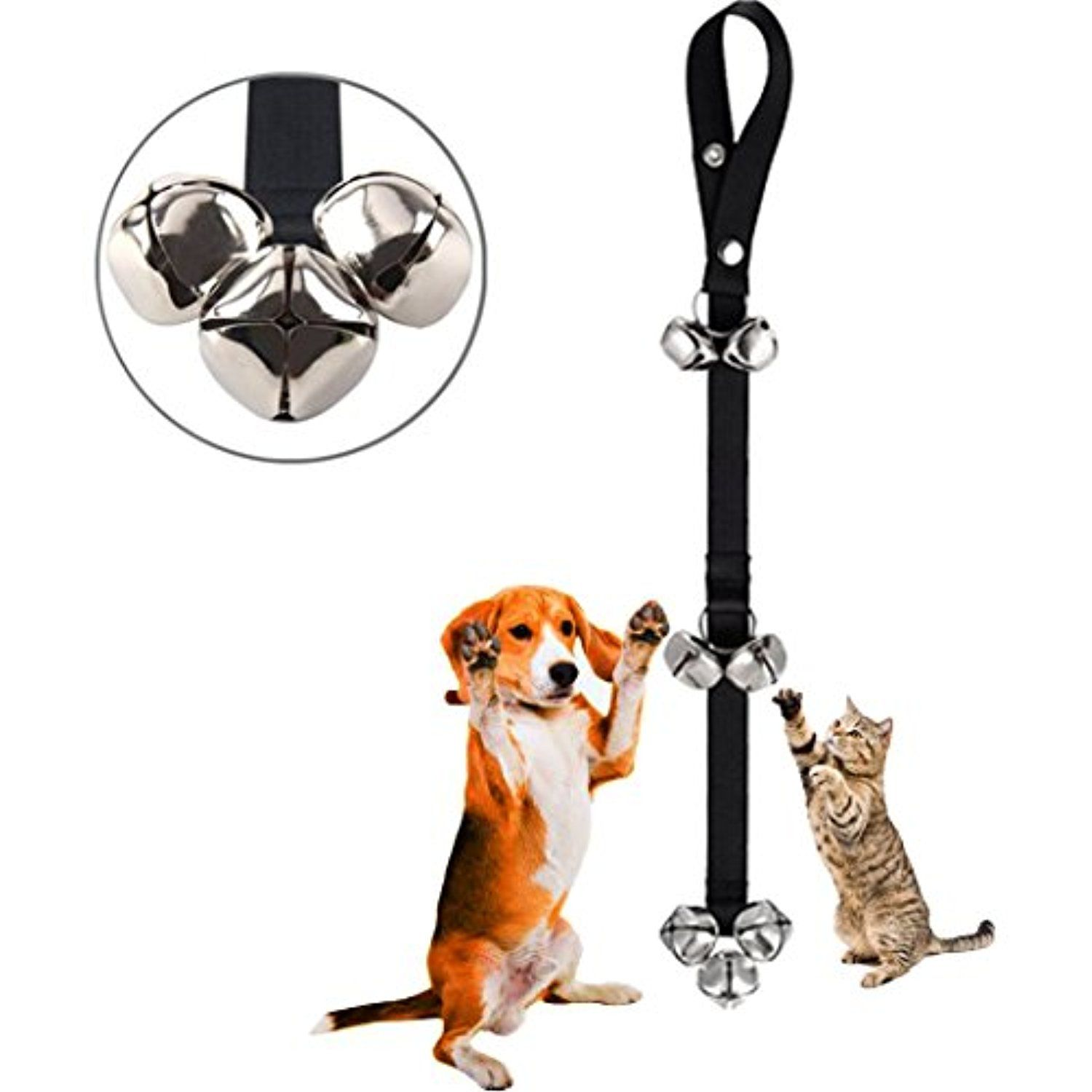 Pet Doorbells Premium Quality Training Potty Knocking Door Calling