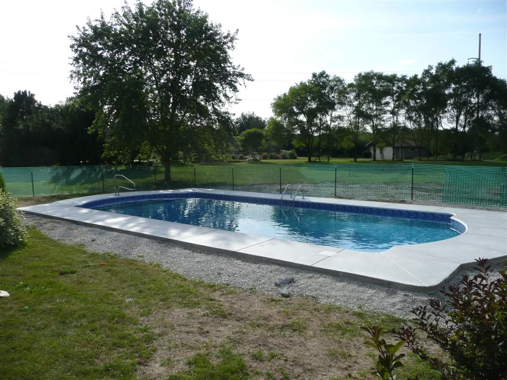Rectangular Inground Pool Designs inground pool landscaping ideas | pool design ideas