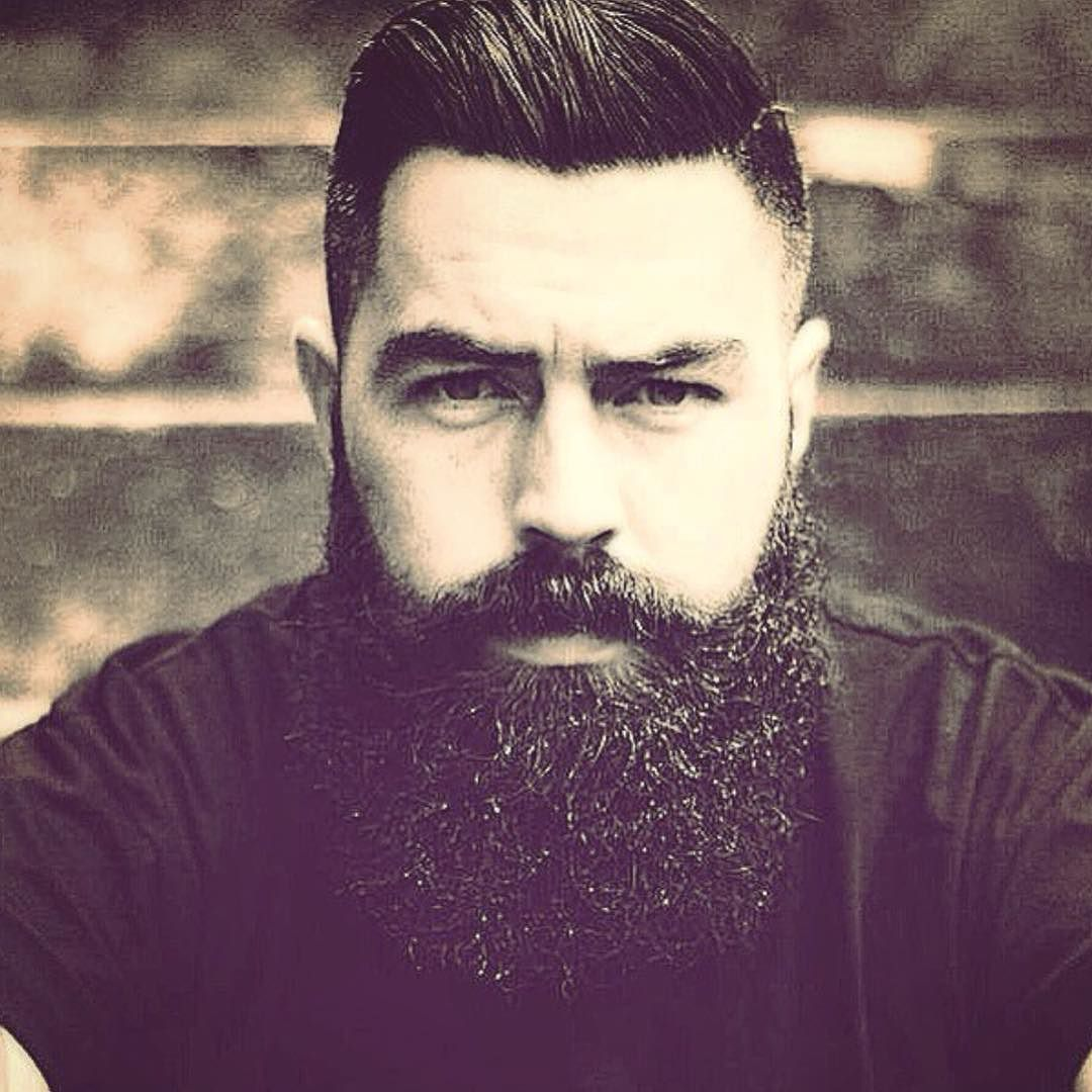 "Bearded Nixon: LuckyAnchor.com ""@_nicky.t #beautifulbeard #beardmodel"