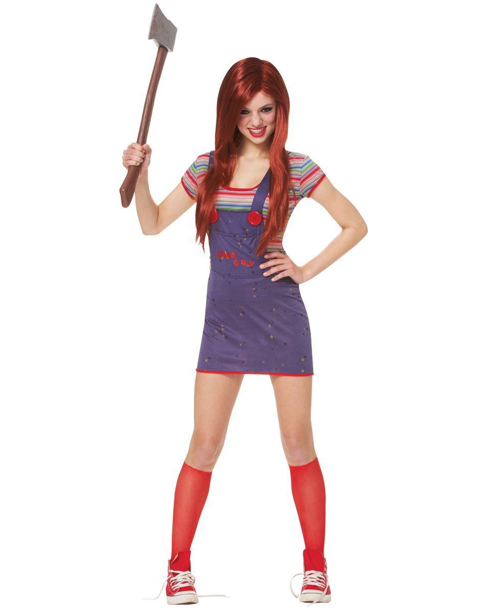 Sexy Chucky Adult Womens Costume – Spirit Halloween   Halloween ...