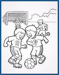 Resultado De Imagen Para Ninos Jugando Futbol En Caricatura Con