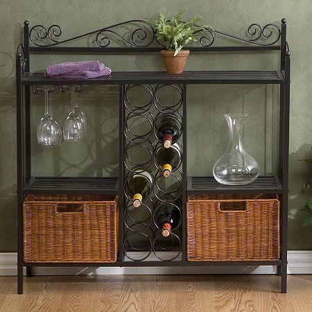 Royce Metal Wine Rack Wine Rack Storage Decor Furniture