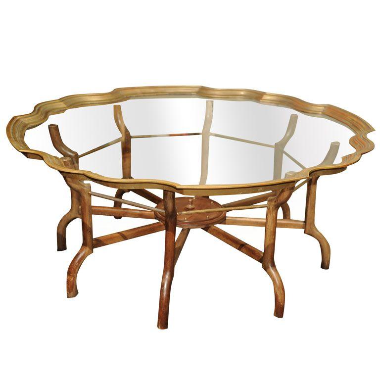Vintage Baker Furniture Coffee Table
