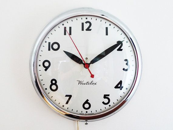 Your Place To Buy And Sell All Things Handmade Clock Wall Clock Vintage