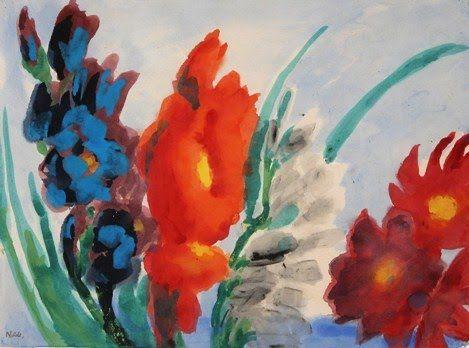 Emil Nolde The Expressionist Flowers Emil Nolde Flower Art Art