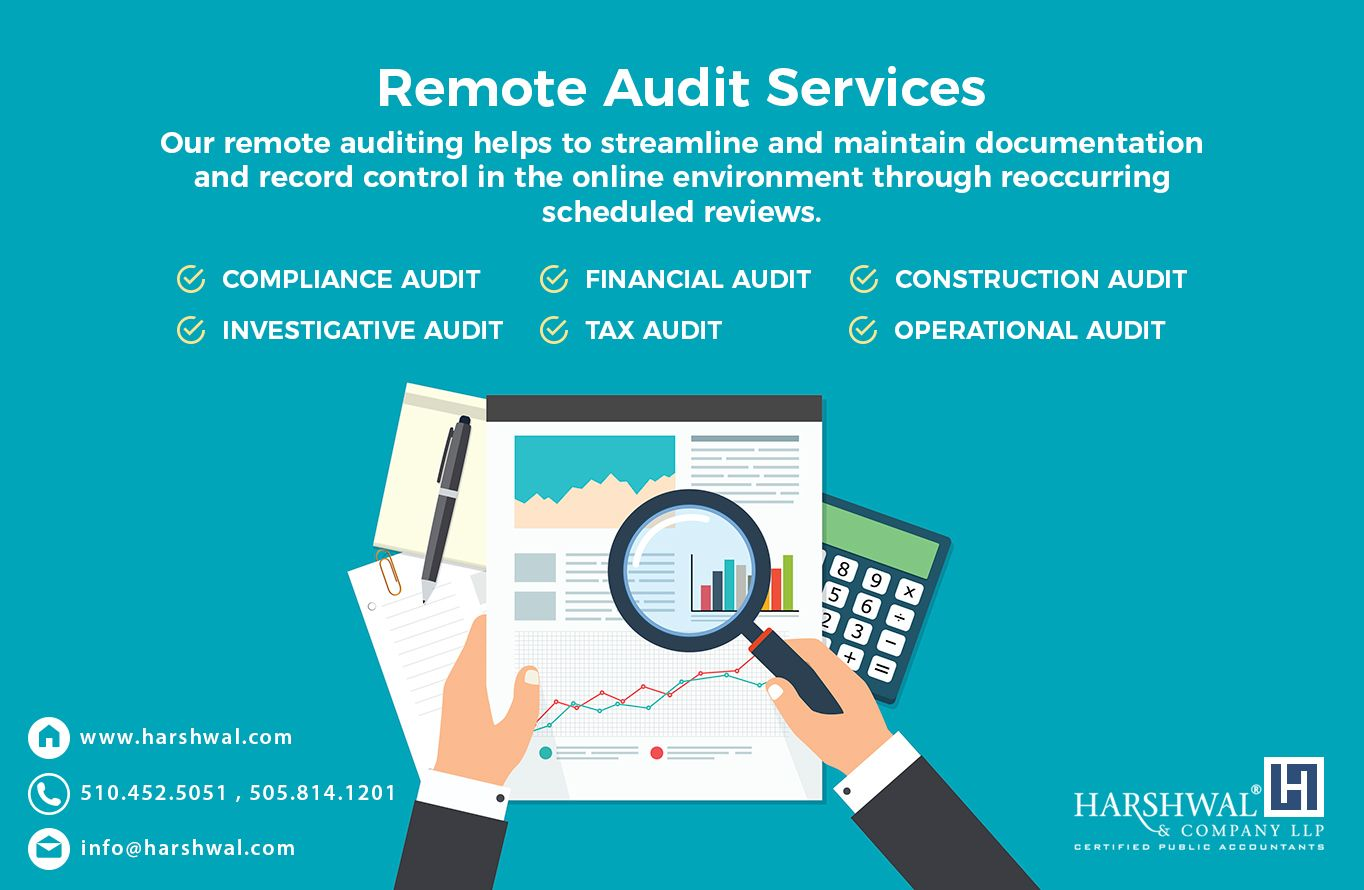 Harshwal Company Llp S Remote Audit Services Are Provided By