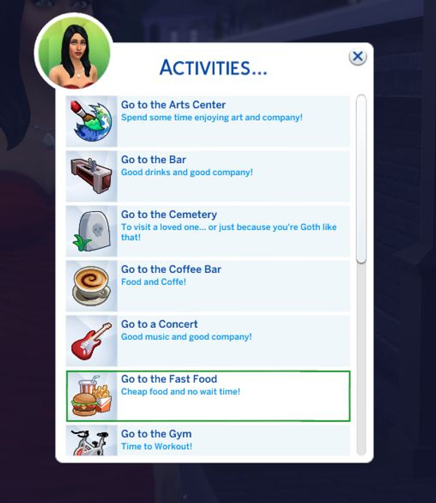 Activities For All Zero S Sims 4 Mods Comics On Patreon Sims 4 Skills Sims 4 Sims