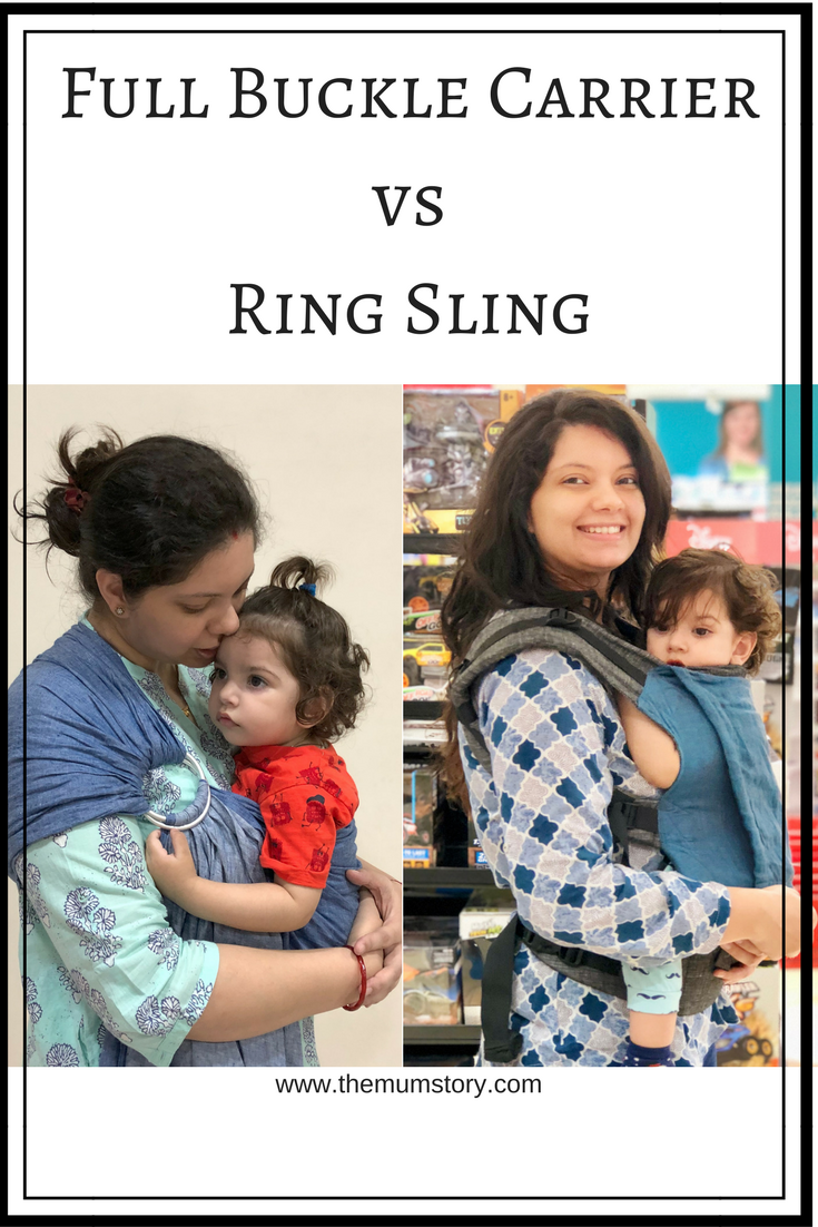Baby Carrier Comparisons Full Buckle Carrier Versus Ring Sling