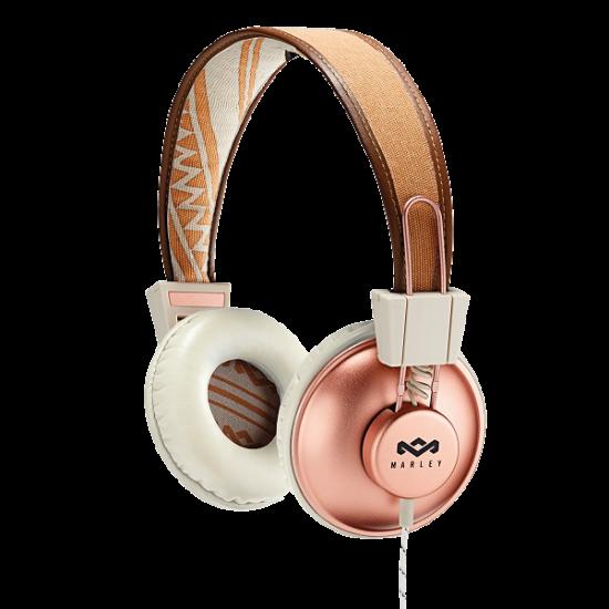 Positive Vibration On Ear Headphones Copper House Of Marley