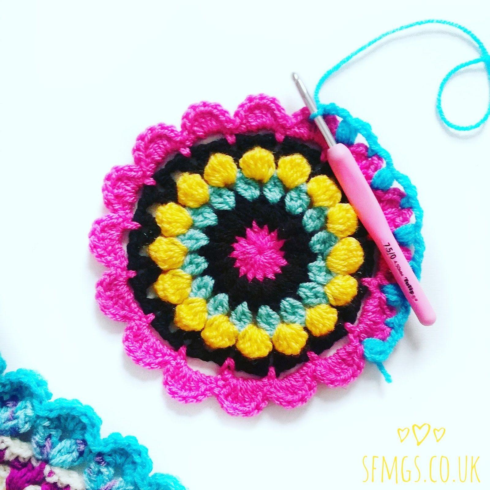 30 Free Mandala Patterns | Free Crochet Pattern - 30 free bright ...