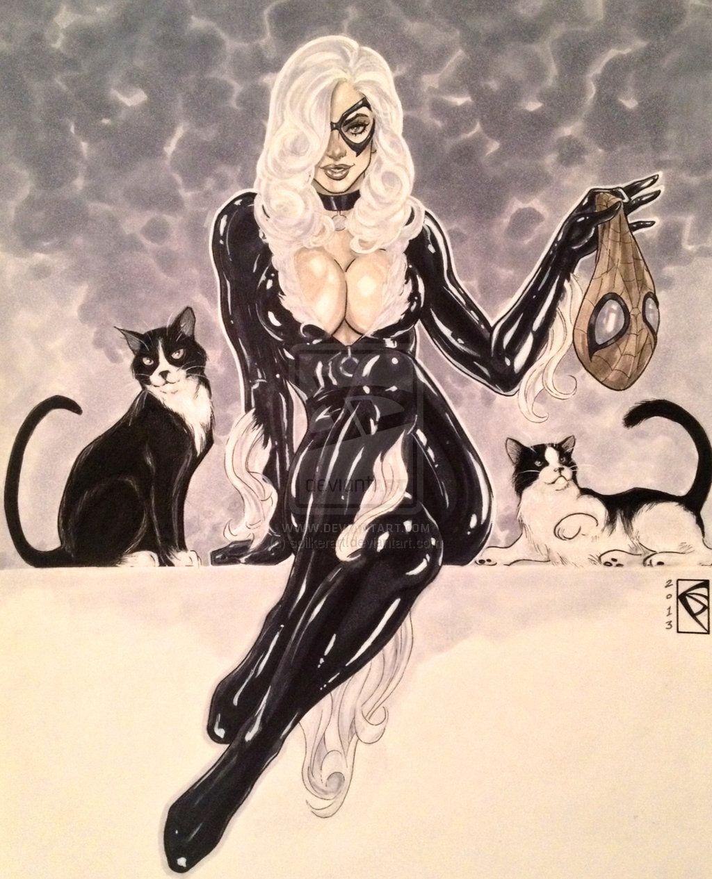 Black Cat has something that belongs to Spidey!!
