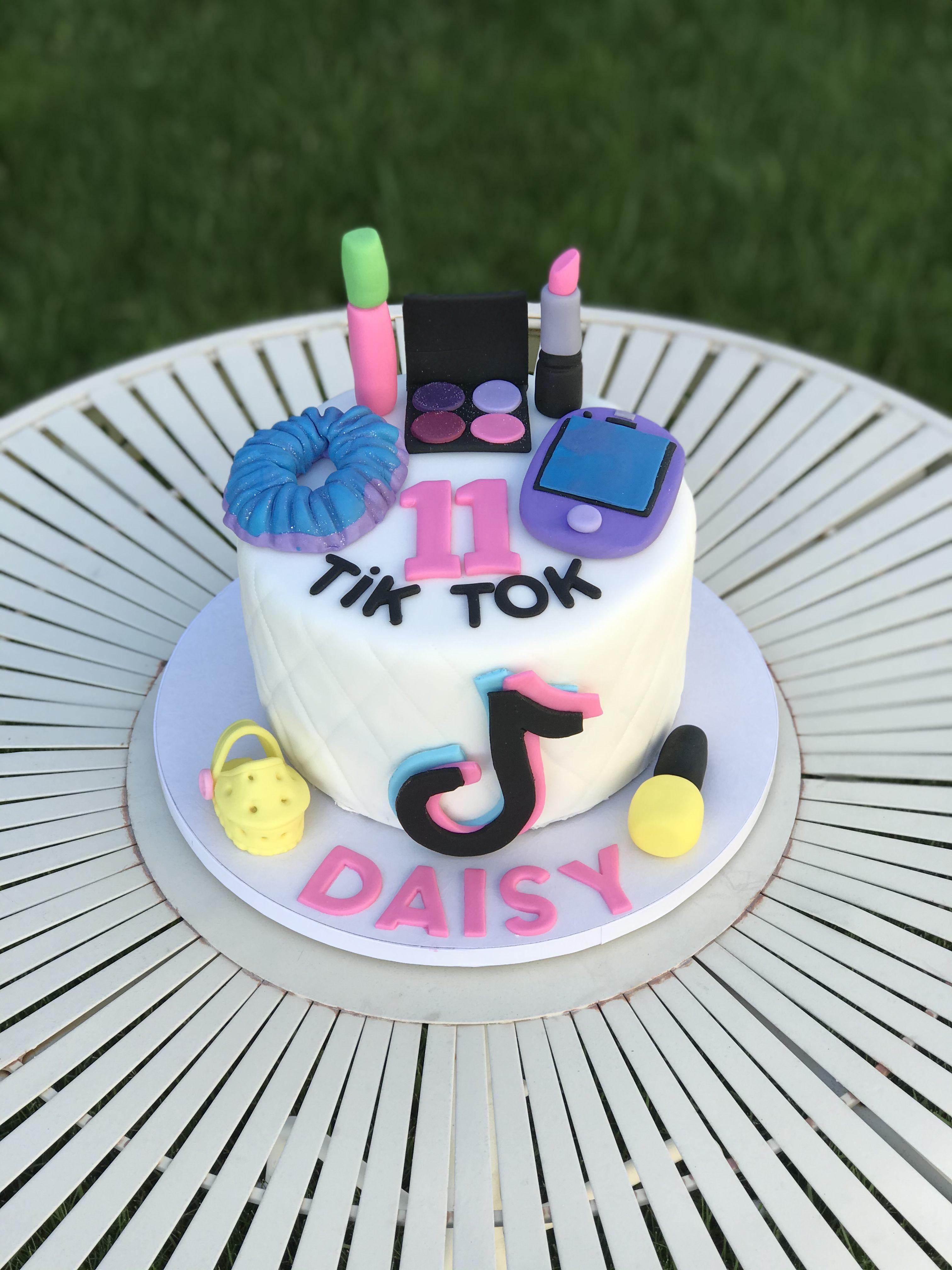 Tik Tok Makeup Cake Make Up Cake Cake Cake Toppers