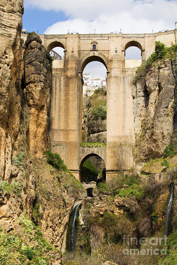 Bridge In Ronda By Artur Bogacki Ronda Spain Places To Travel Old Bridges