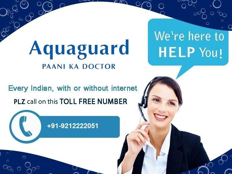 Aquaguard RO Customer Care offers all types of Aquaguard