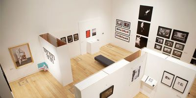 The exhibition space