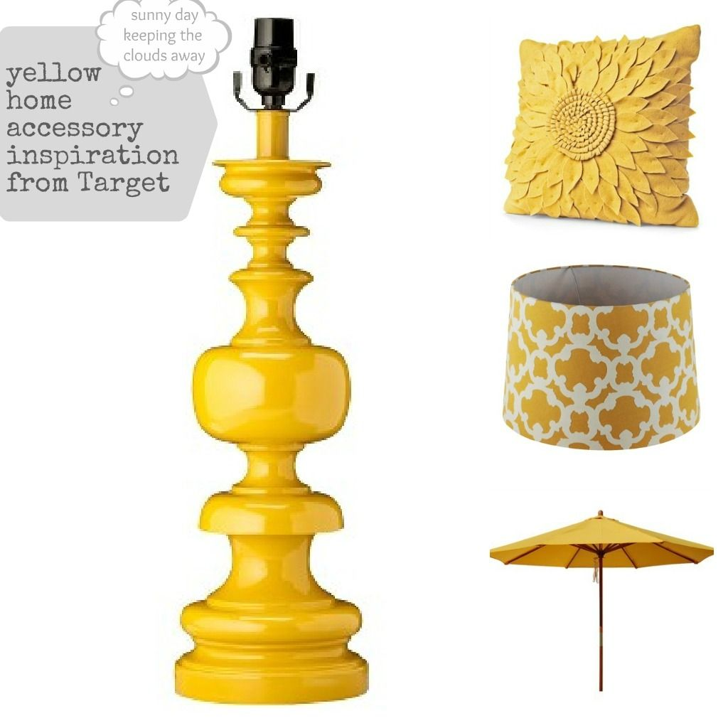 Yellow Home Accessories From Target Bargainhoot Com