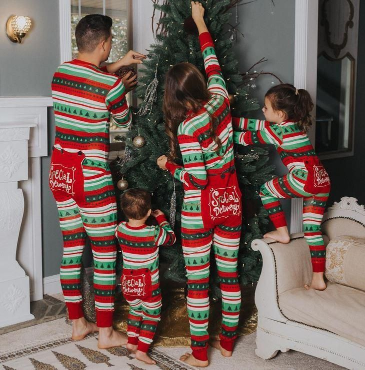 Matching Christmas Pajamas.Lazyone Adult Special Delivery Flapjack Matching Christmas