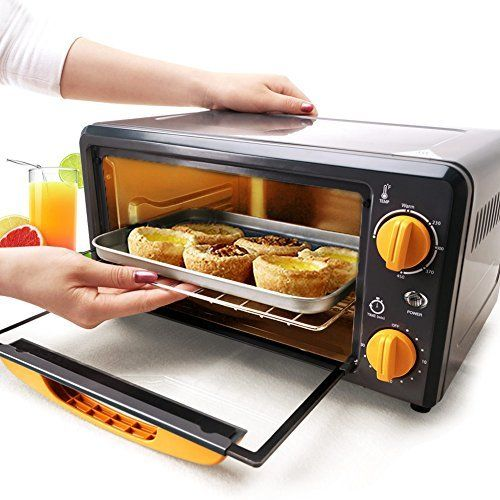 Portable Mini Oven Broiler Geekygifts In Home Pizza Oven Mini