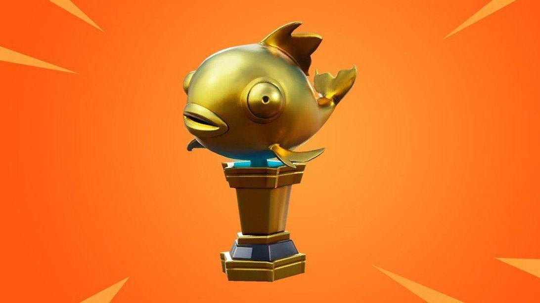 Fortnite Mythic Goldfish Has One Hit Elimination Power If Found Fortnite Mythical Goldfish