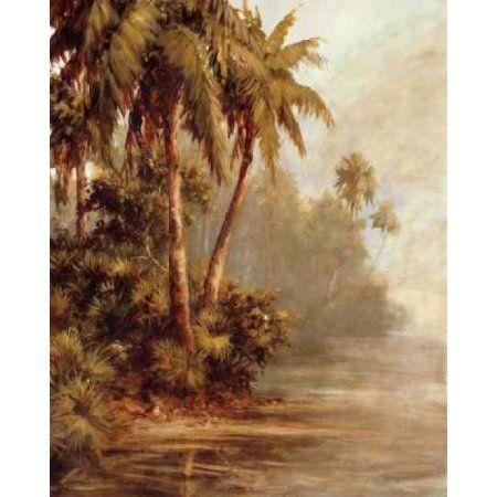 Hidden Bank Canvas Art - Malarz (24 x 30)