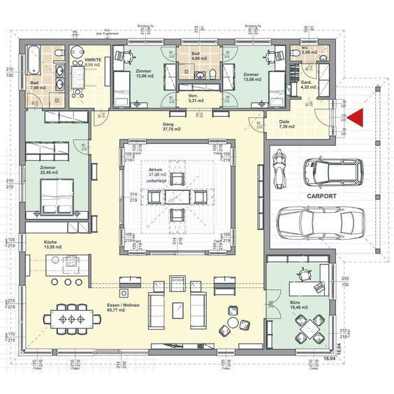 Bungalow Bauen: Haus Und Grundriss