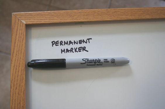 How To Remove Permanent Marker From A Dry Erase Board You Won T Believe How Simple It Is Remove Permanent Marker Dry Erase Board Marker Stain