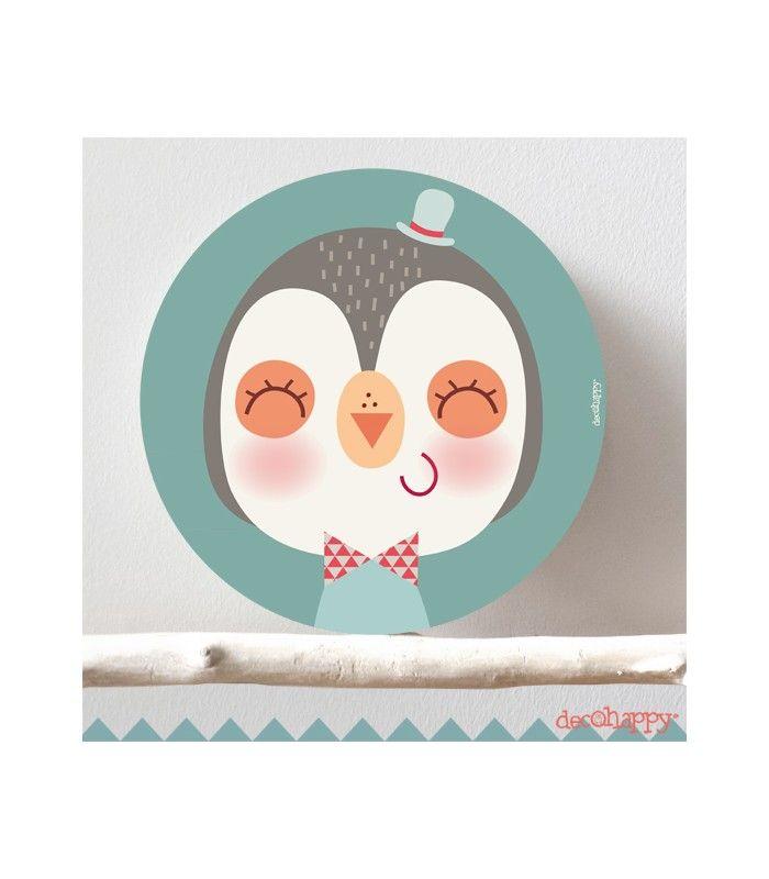 Cuadro infantil pinguino guapo cuadros infantiles pinterest cuadros infantiles cuadro y - Cuadros guapos ...