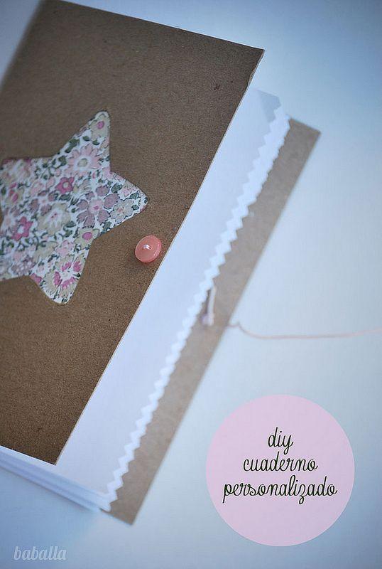 Cómo hacer libretas en casa Manualidades con papel y cartón