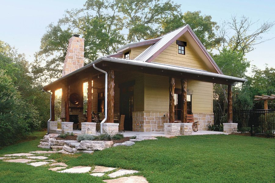 cabins & cottages under 1,000 square feet | guest house plans