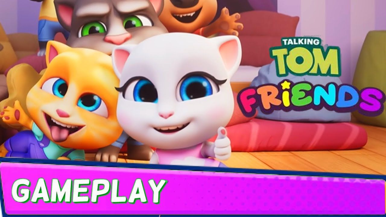 My Talking Tom Friends (by Outfit7) Gameplay Walkthrough