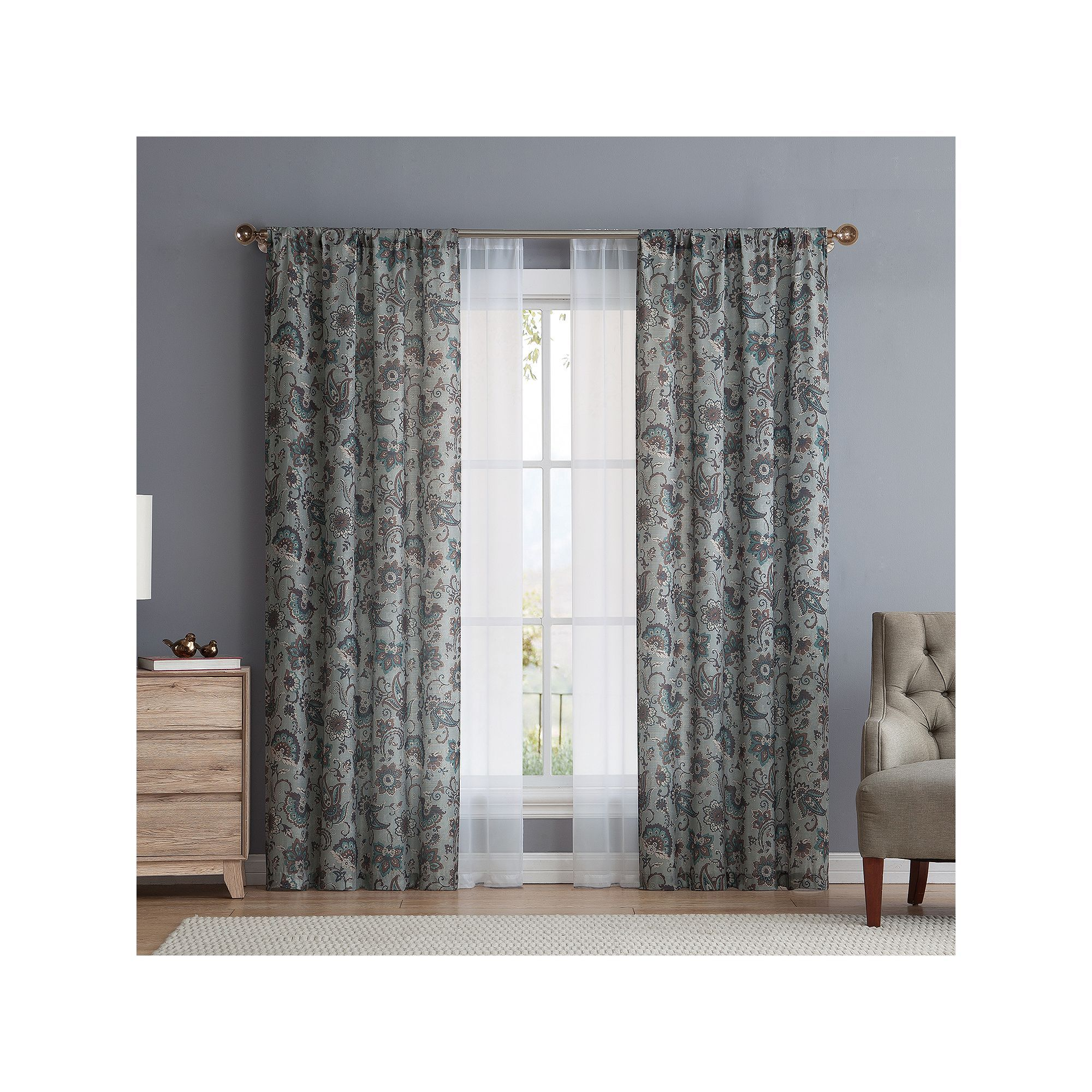 Vcny avon pack curtains green avon and products