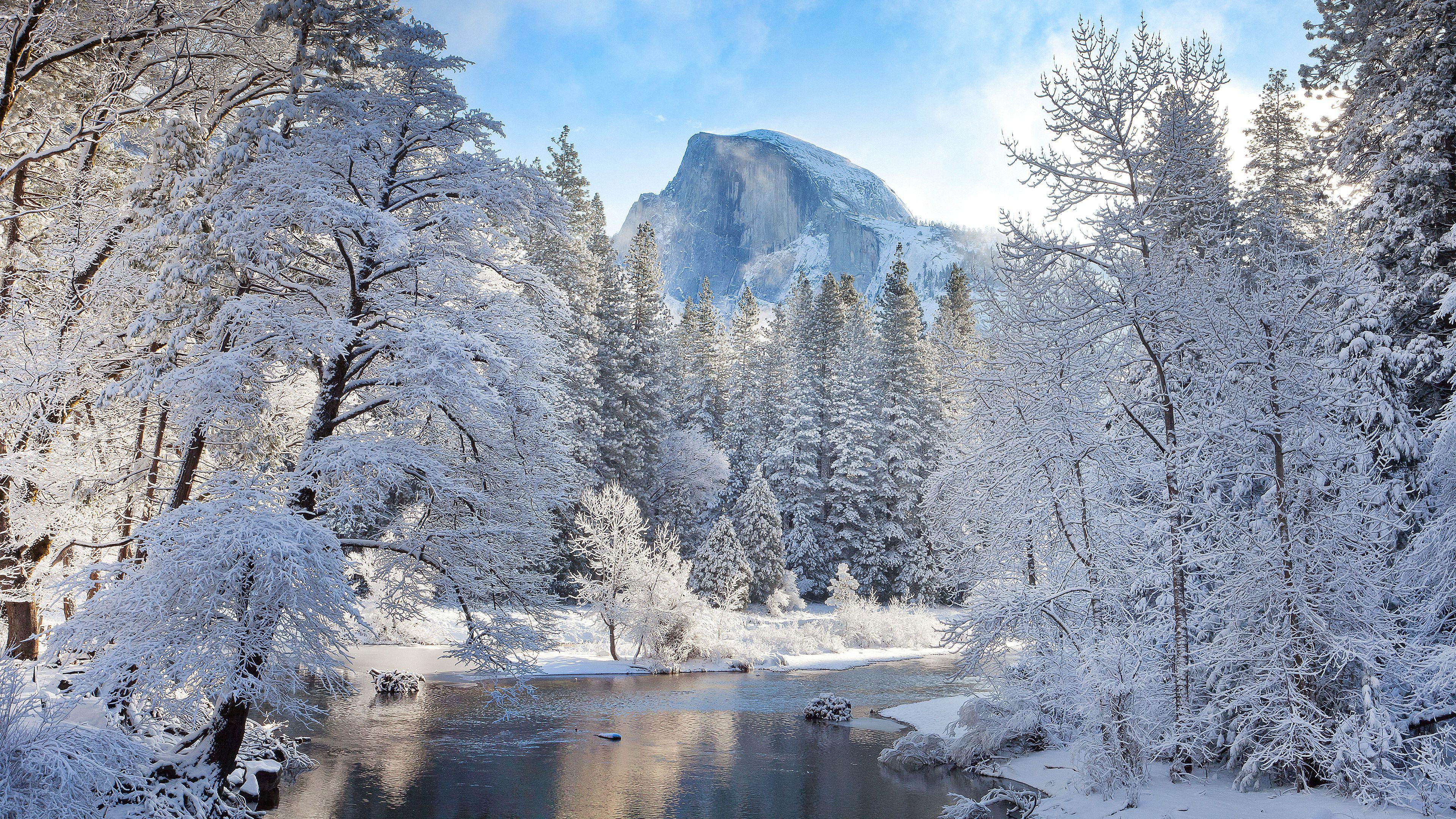 #Yosemite Bridge #Nature #Snow #Miessence #CertifiedOrganic