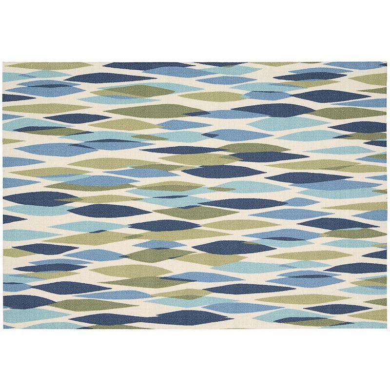 Waverly Sun N Shade Abstract Geometric Indoor Outdoor Rug